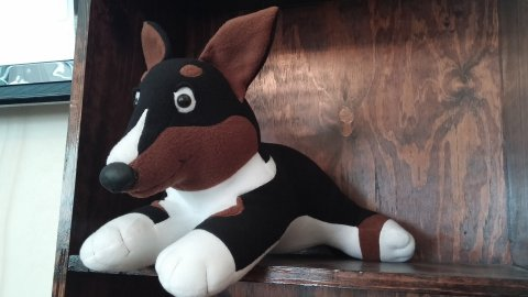 Larger Corgi Plush